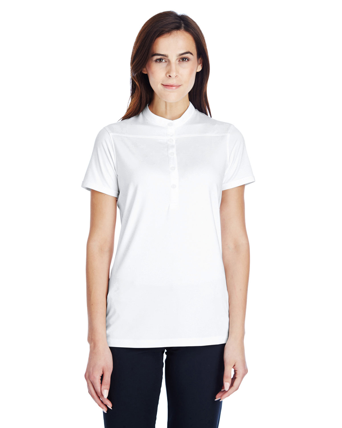 Under Armour SuperSale Ladies' Corporate Performance Polo 2.0 WHITE/ GRAPH _100