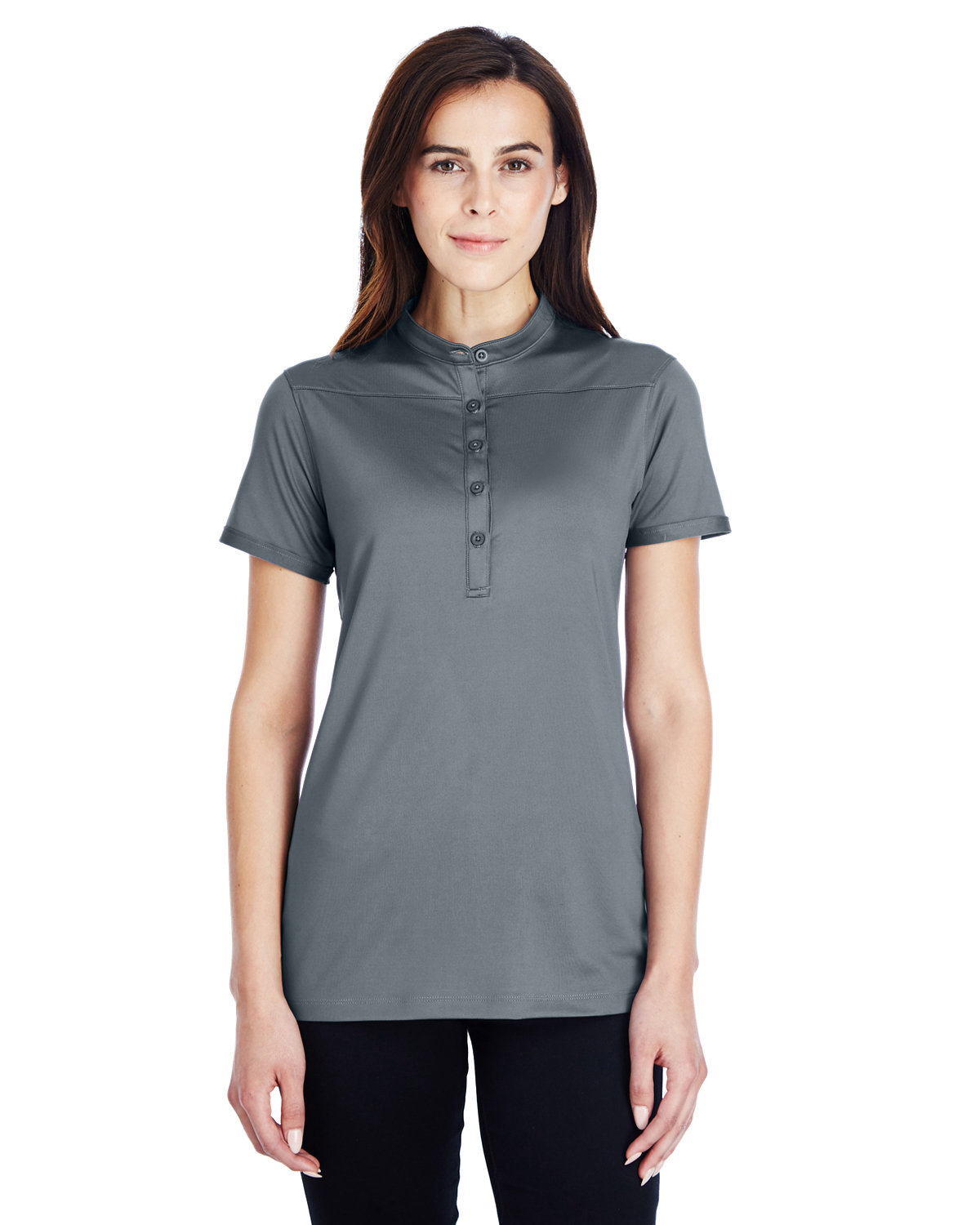 Under Armour SuperSale Ladies' Corporate Performance Polo 2.0 GRAPH/ WHITE _040