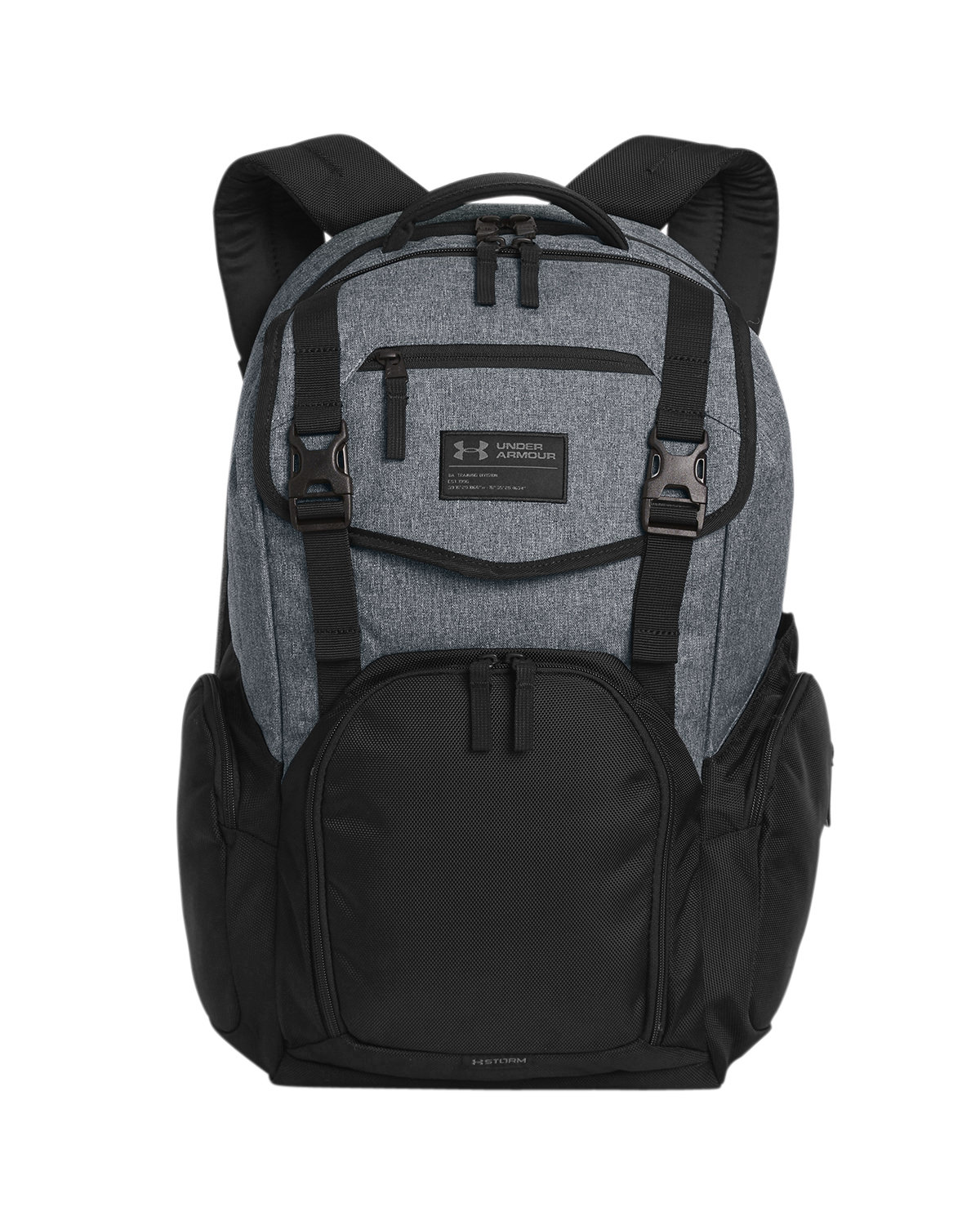 Under Armour SuperSale Unisex Corporate Coalition Backpack GR HT/ BK/ B _040