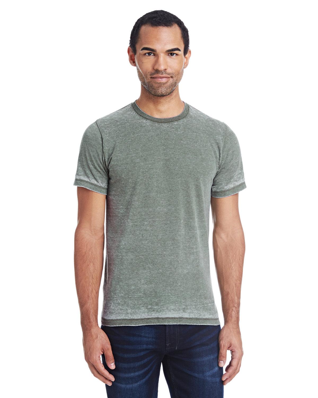 Tie-Dye Adult Acid Wash T-Shirt OLIVE