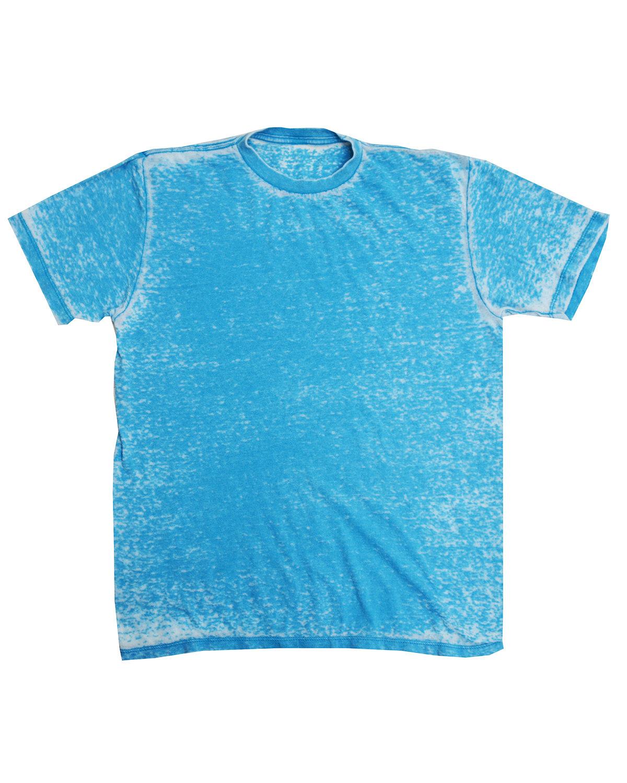 Tie-Dye Adult Acid Wash T-Shirt SKY
