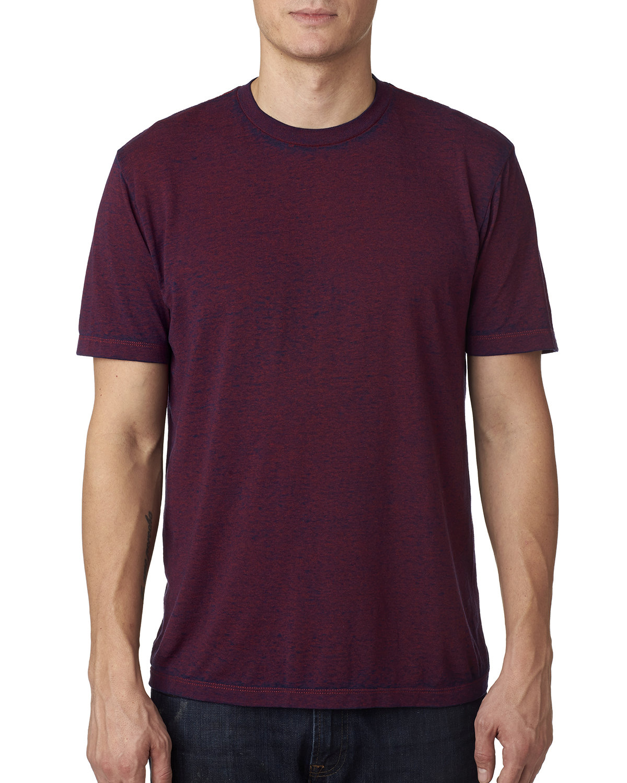 Tie-Dye Adult Acid Wash T-Shirt BURGUNDY