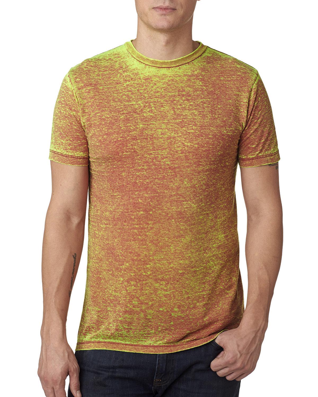Tie-Dye Adult Acid Wash T-Shirt RUSTY RED