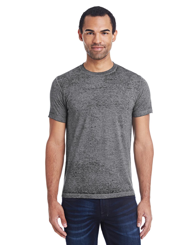 Tie-Dye Adult Acid Wash T-Shirt TWILIGHT BLACK