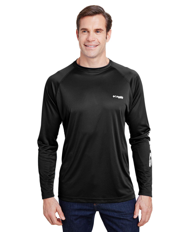 Columbia Terminal Tackle™ Long-Sleeve T-Shirt BLACK