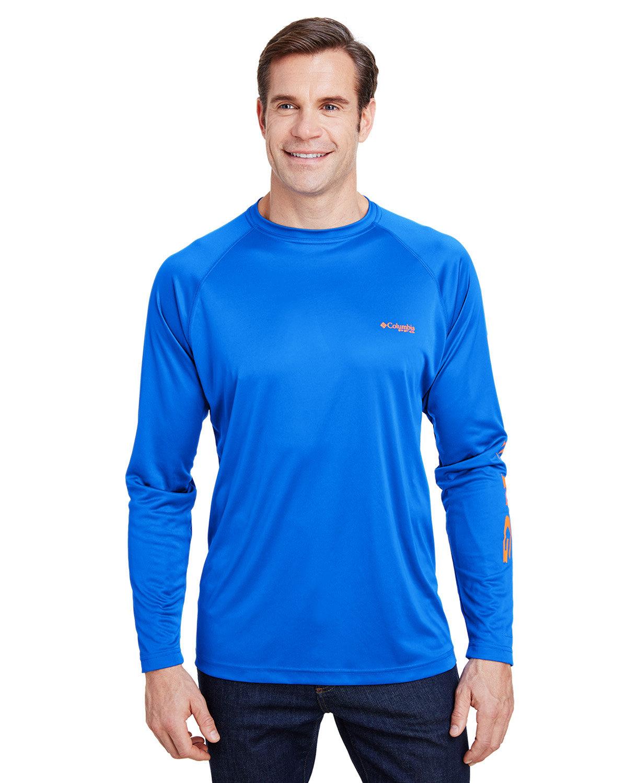 Columbia Terminal Tackle™ Long-Sleeve T-Shirt VIVID BLUE
