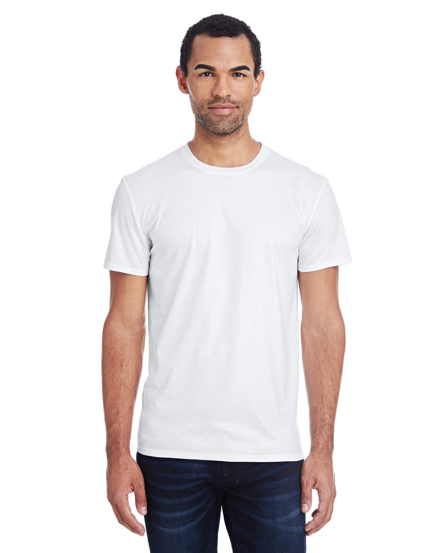 Threadfast Apparel Men's Liquid Jersey Short-Sleeve T-Shirt LIQUID WHITE