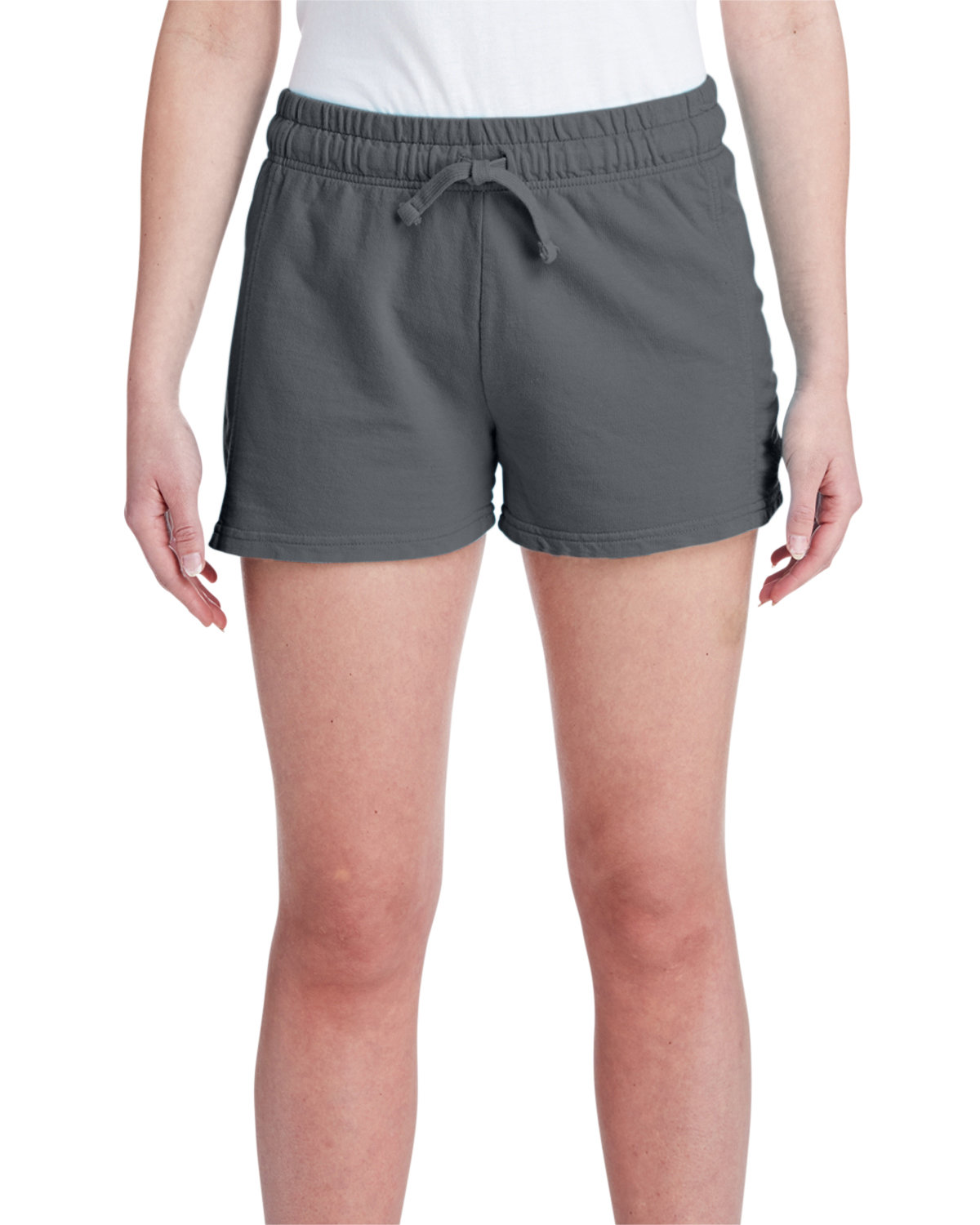 Comfort Colors Ladies' French Terry Short PEPPER