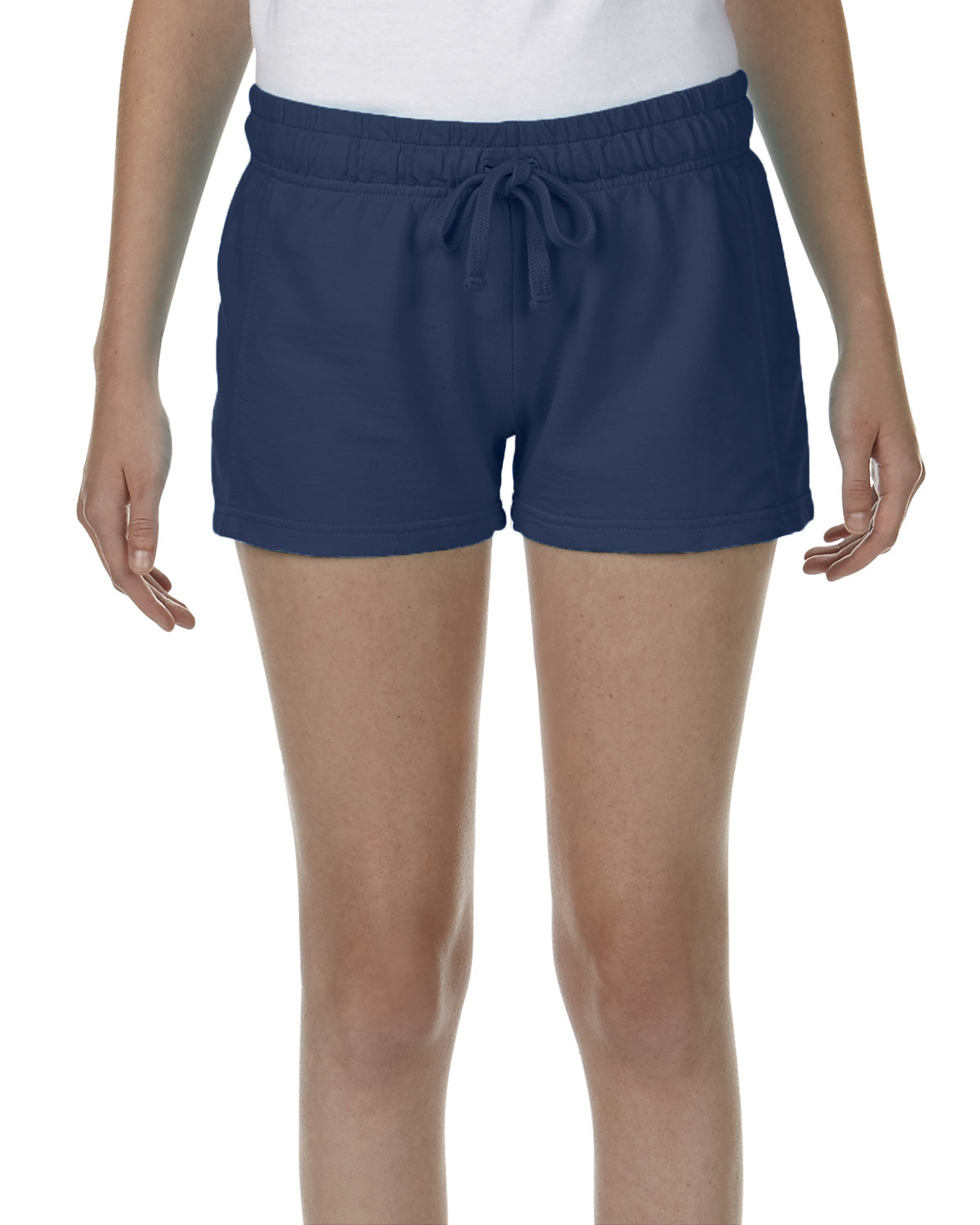 Comfort Colors Ladies' French Terry Short TRUE NAVY