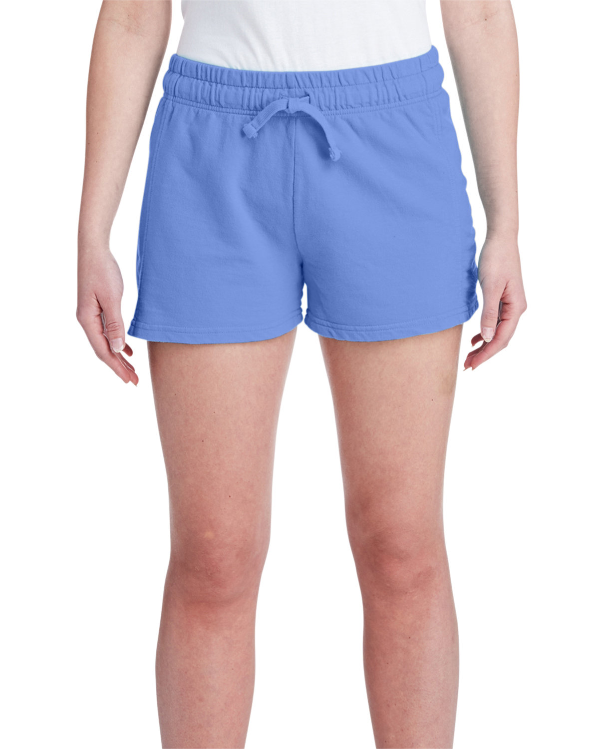 Comfort Colors Ladies' French Terry Short FLO BLUE