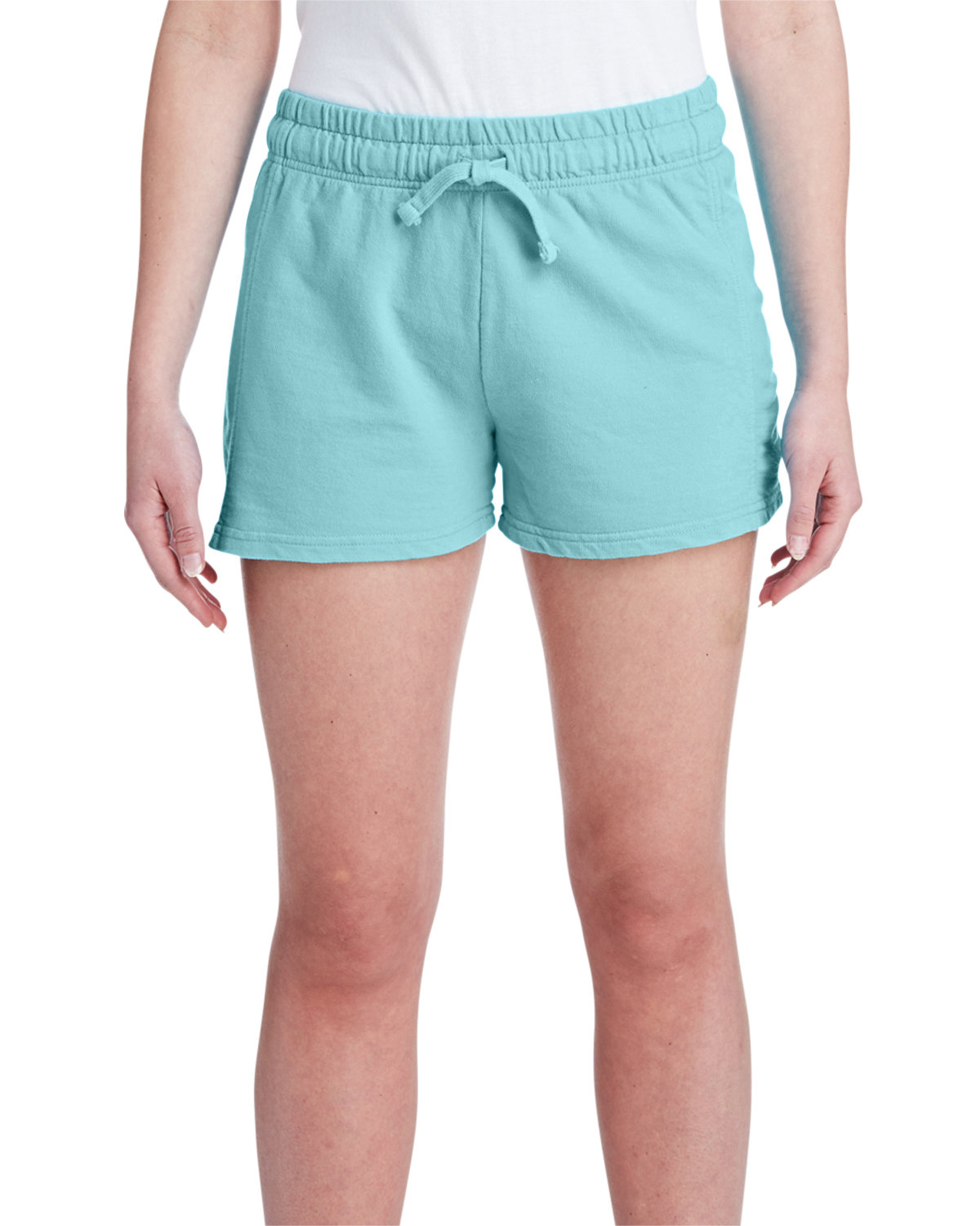 Comfort Colors Ladies' French Terry Short CHALKY MINT