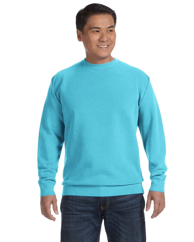 Comfort Colors Adult Crewneck Sweatshirt LAGOON BLUE