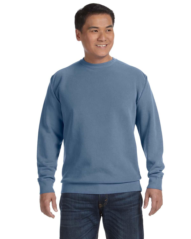Comfort Colors Adult Crewneck Sweatshirt BLUE JEAN