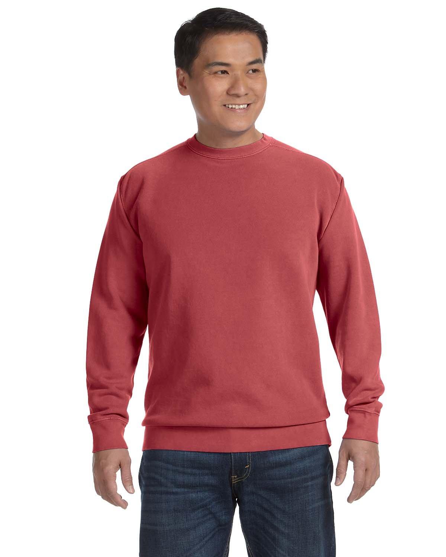 Comfort Colors Adult Crewneck Sweatshirt CRIMSON