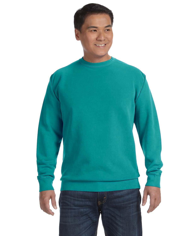 Comfort Colors Adult Crewneck Sweatshirt SEAFOAM
