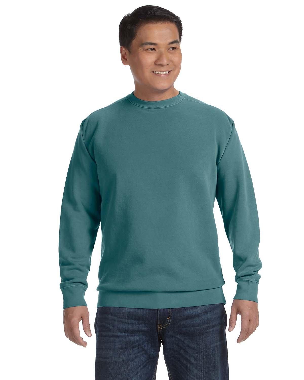 Comfort Colors Adult Crewneck Sweatshirt BLUE SPRUCE