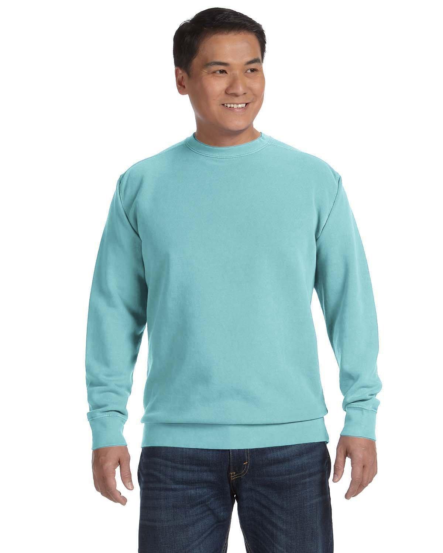 Comfort Colors Adult Crewneck Sweatshirt CHALKY MINT