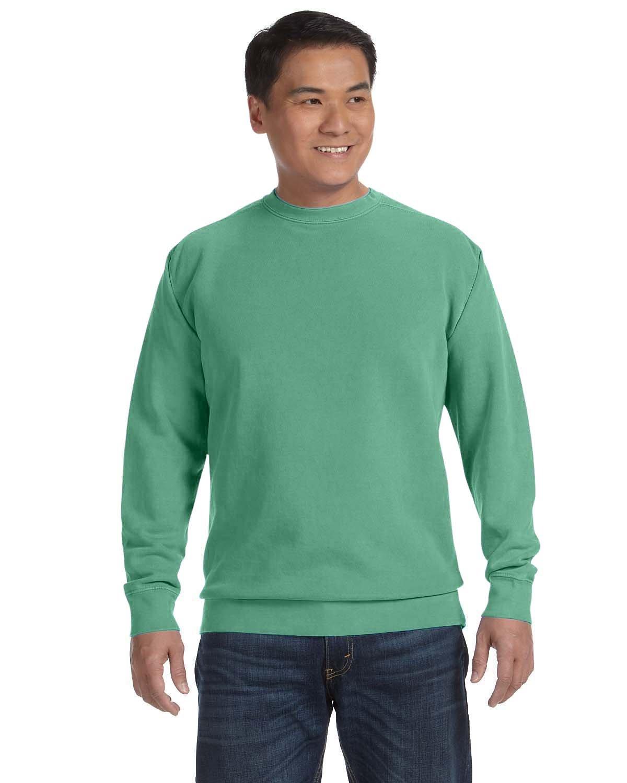 Comfort Colors Adult Crewneck Sweatshirt ISLAND GREEN