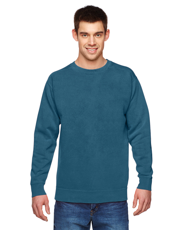 Comfort Colors Adult Crewneck Sweatshirt TOPAZ BLUE