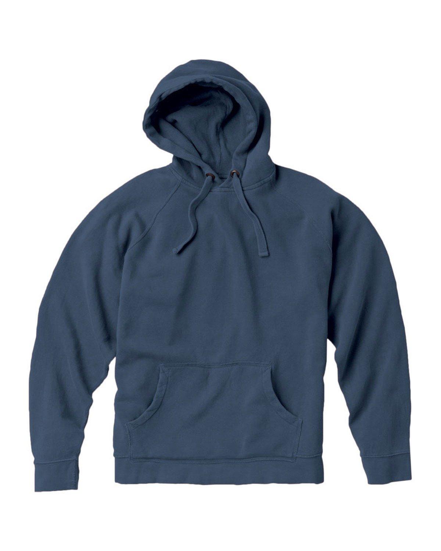 Comfort Colors Adult Hooded Sweatshirt BLUE JEAN