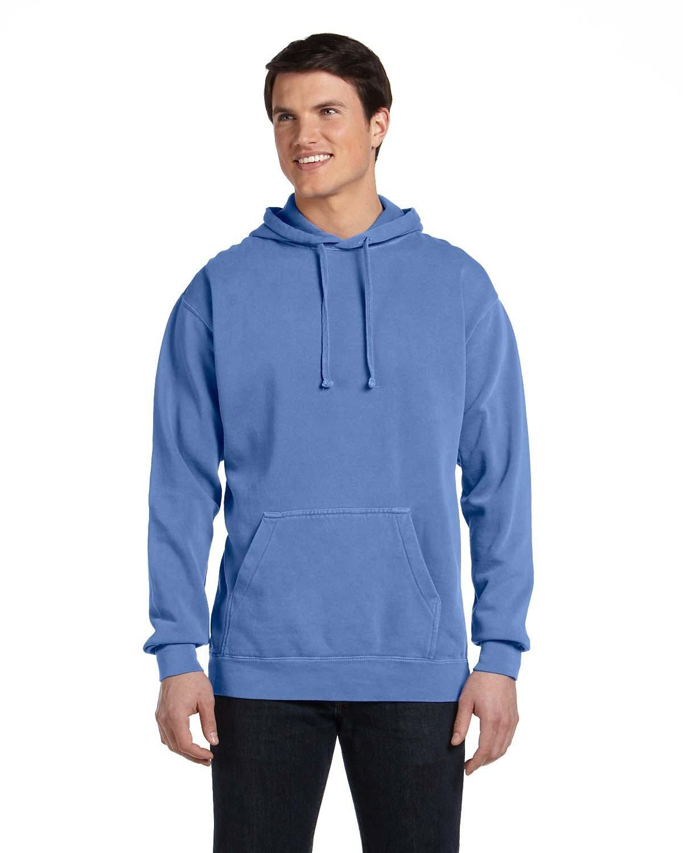 Comfort Colors Adult Hooded Sweatshirt FLO BLUE