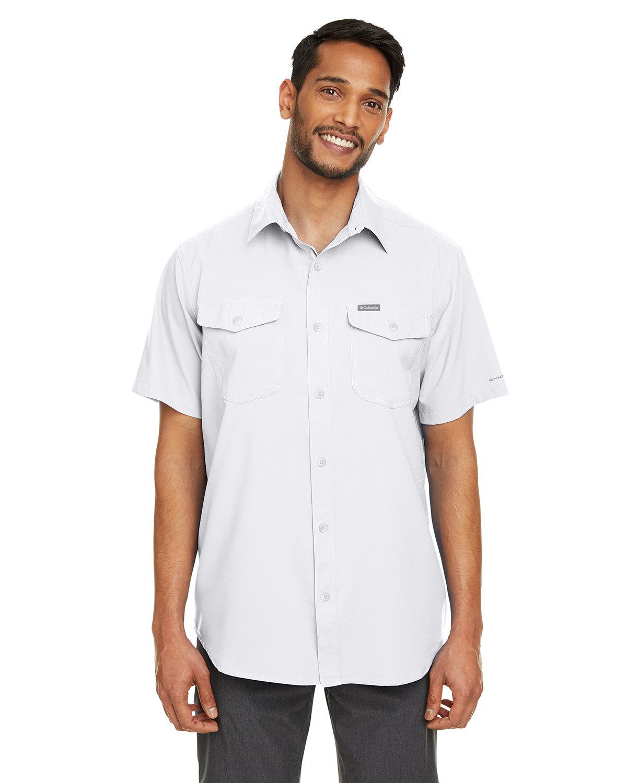 Columbia Men's Utilizer™ II Solid Performance Short-Sleeve Shirt WHITE