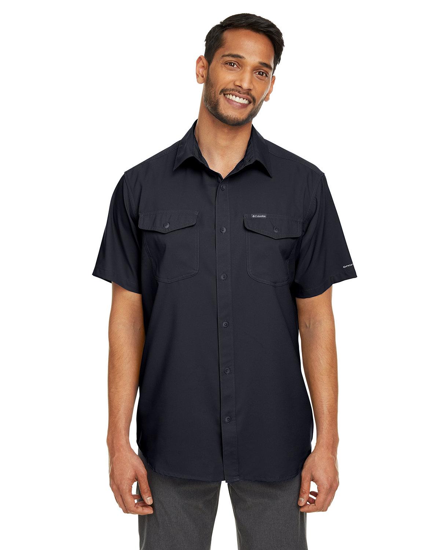 Columbia Men's Utilizer™ II Solid Performance Short-Sleeve Shirt BLACK