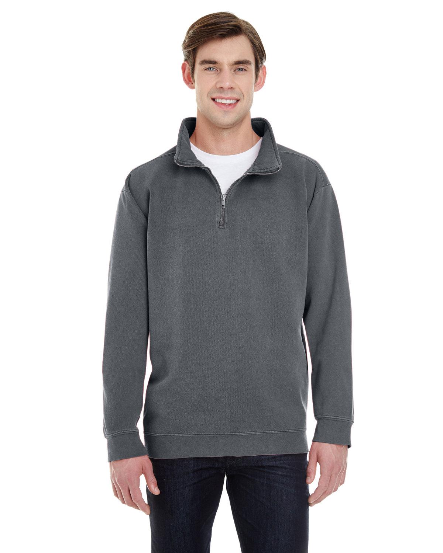 Comfort Colors Adult Quarter-Zip Sweatshirt PEPPER