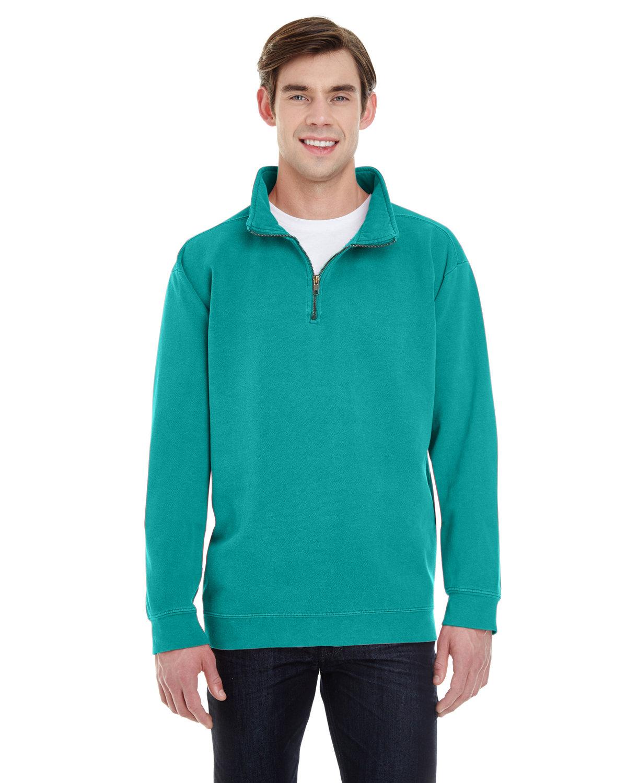 Comfort Colors Adult Quarter-Zip Sweatshirt SEAFOAM