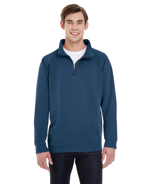 Comfort Colors Adult Quarter-Zip Sweatshirt TRUE NAVY