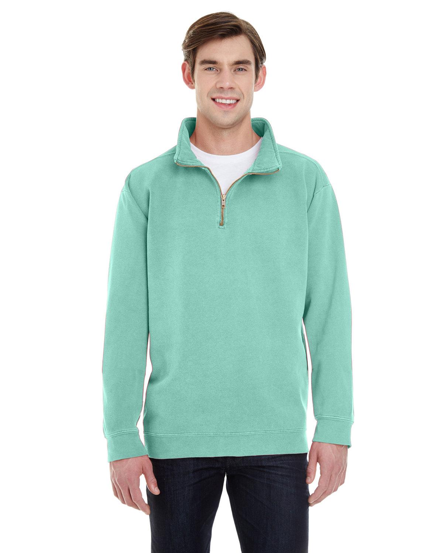 Comfort Colors Adult Quarter-Zip Sweatshirt ISLAND REEF