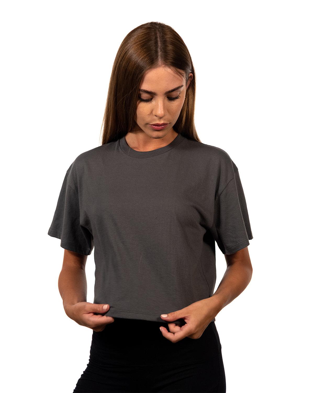 Next Level Ladies' Ideal Crop T-Shirt DARK GRAY