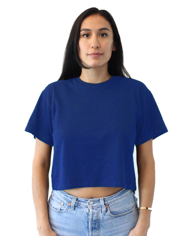 Next Level Ladies' Ideal Crop T-Shirt ROYAL