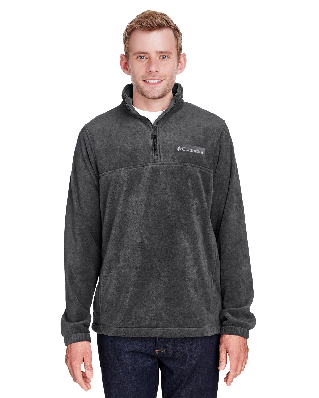 Columbia Men's Steens Mountain™ Half-Zip Fleece Jacket CHARCOAL HEATHER