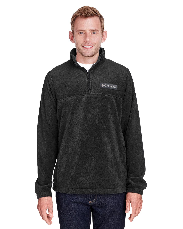 Columbia Men's Steens Mountain™ Half-Zip Fleece Jacket BLACK