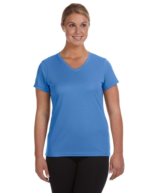 Augusta Sportswear Ladies' NexGen Wicking T-Shirt COLUMBIA BLUE