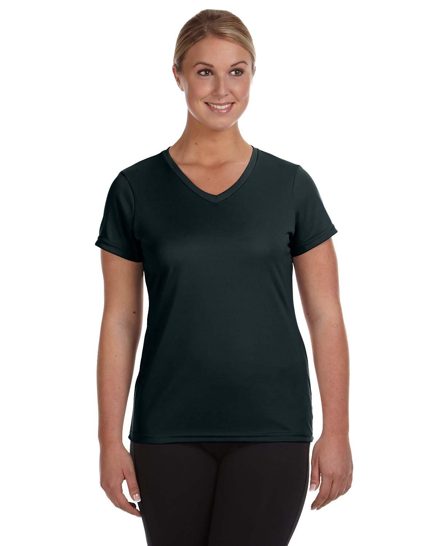 Augusta Sportswear Ladies' NexGen Wicking T-Shirt BLACK