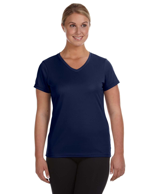 Augusta Sportswear Ladies' NexGen Wicking T-Shirt NAVY