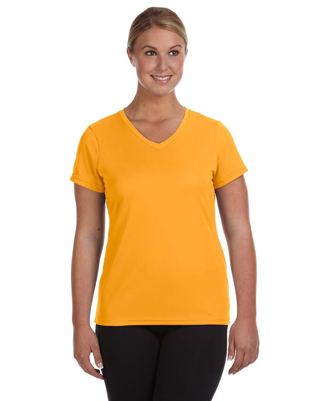 Augusta Sportswear Ladies' NexGen Wicking T-Shirt GOLD