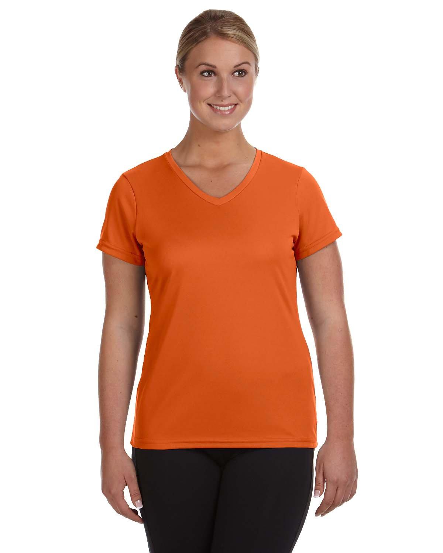 Augusta Sportswear Ladies' NexGen Wicking T-Shirt ORANGE