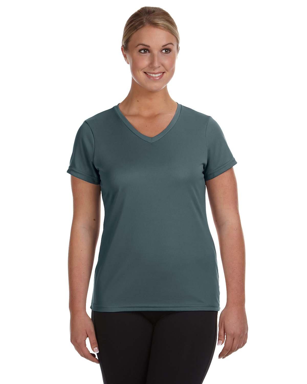 Augusta Sportswear Ladies' NexGen Wicking T-Shirt GRAPHITE