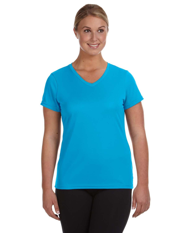 Augusta Sportswear Ladies' NexGen Wicking T-Shirt POWER BLUE