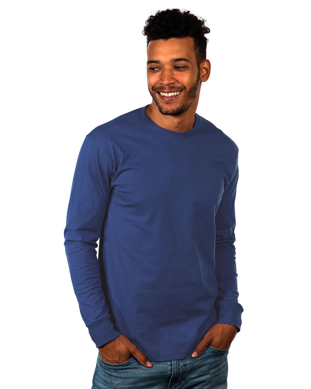 Next Level Unisex Ideal Heavyweight Long-Sleeve T-Shirt COOL BLUE