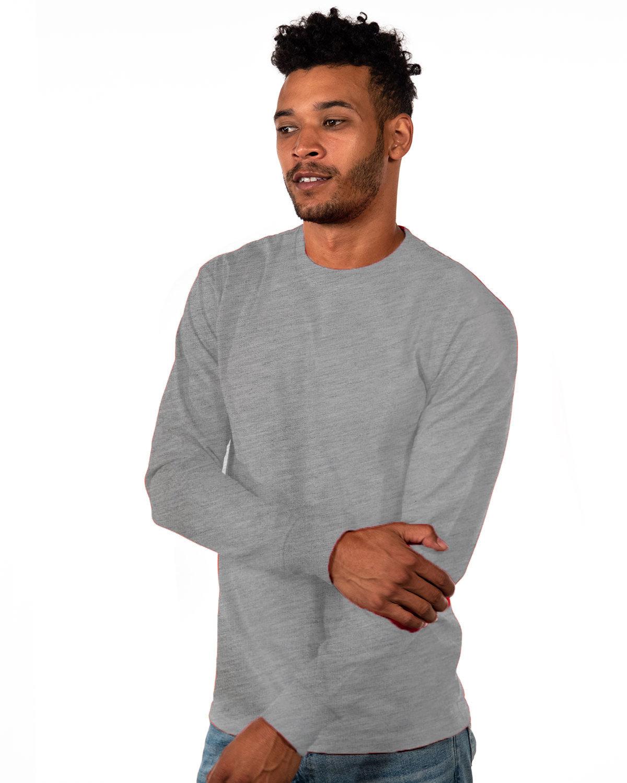 Next Level Unisex Ideal Heavyweight Long-Sleeve T-Shirt HEATHER GRAY