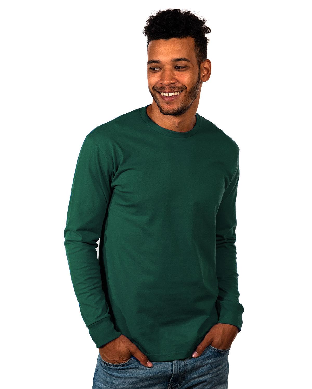 Next Level Unisex Ideal Heavyweight Long-Sleeve T-Shirt FOREST GREEN