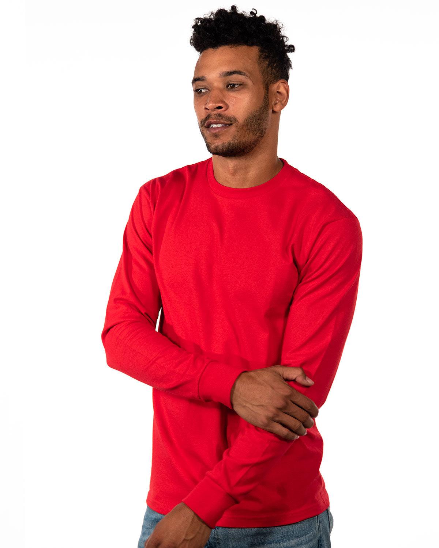 Next Level Unisex Ideal Heavyweight Long-Sleeve T-Shirt RED