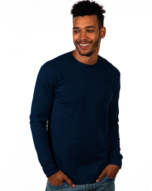 Next Level Unisex Ideal Heavyweight Long-Sleeve T-Shirt MIDNIGHT NAVY