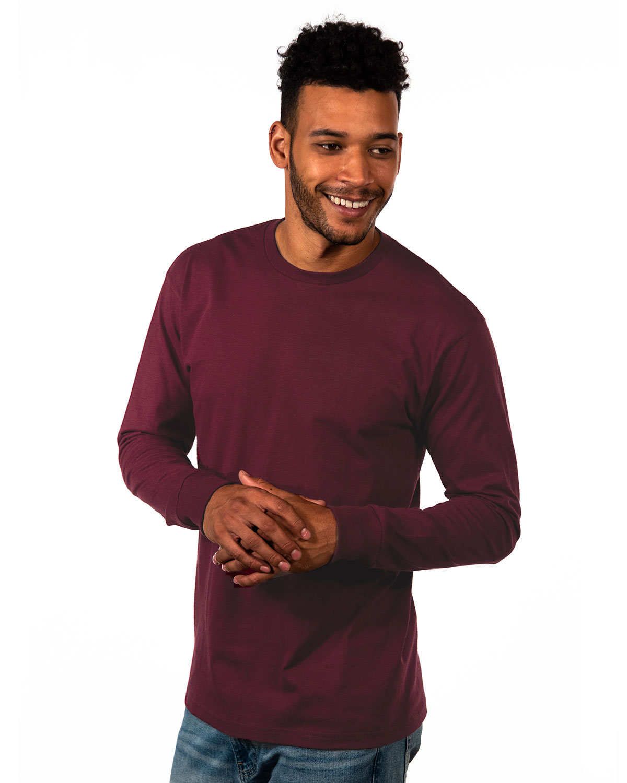 Next Level Unisex Ideal Heavyweight Long-Sleeve T-Shirt MAROON