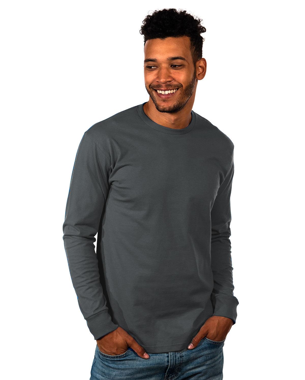 Next Level Unisex Ideal Heavyweight Long-Sleeve T-Shirt GRAPHITE BLACK