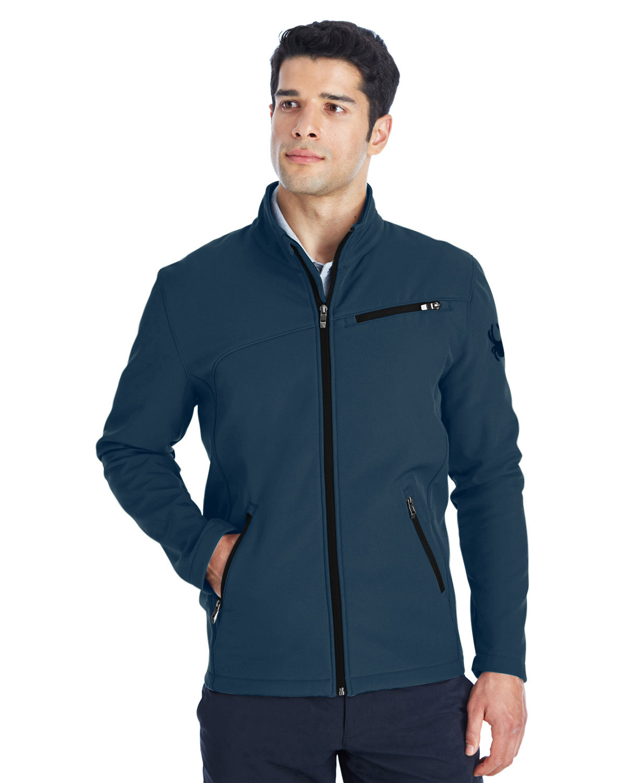Spyder Men's Transport Soft Shell Jacket FRONTIER/ BLACK